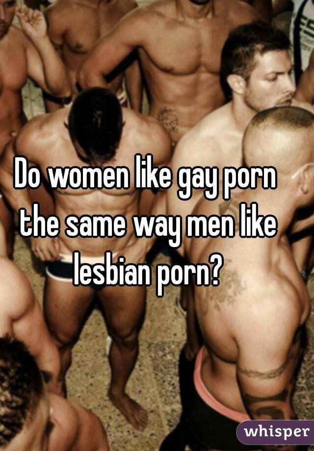 Why do i like gay porn