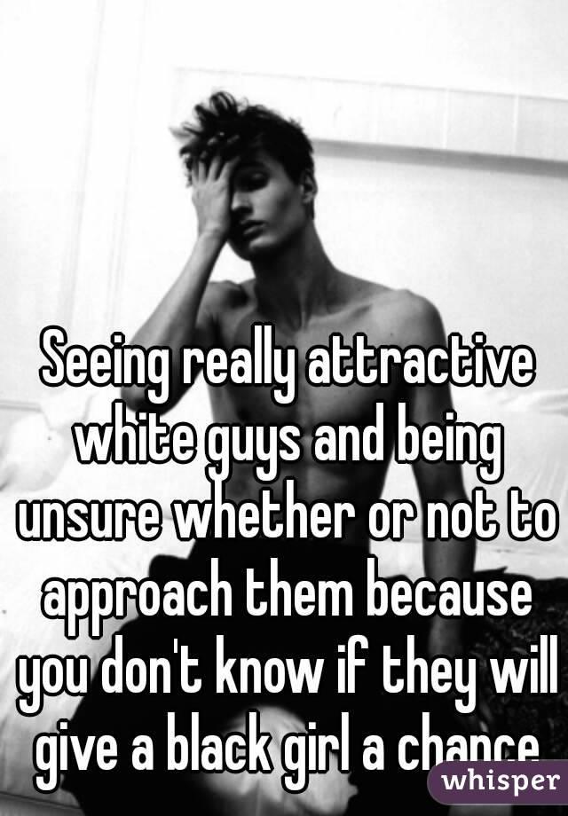 black girl first white guy