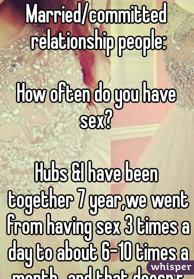 Sex 10 times a day