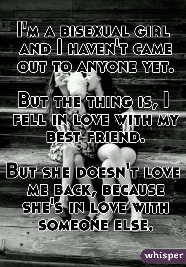 in best friend with Bisexual love girl