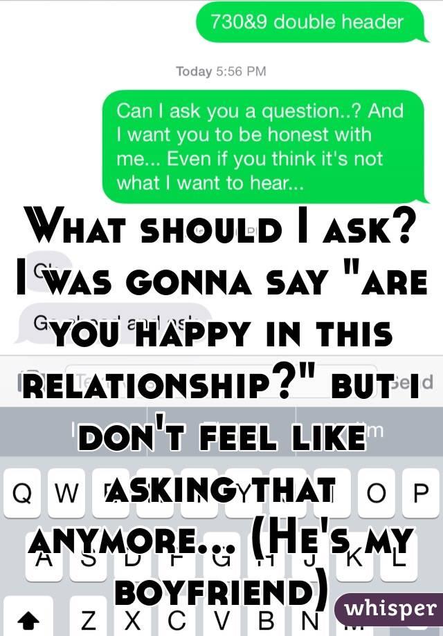 what should i say to my boyfriend