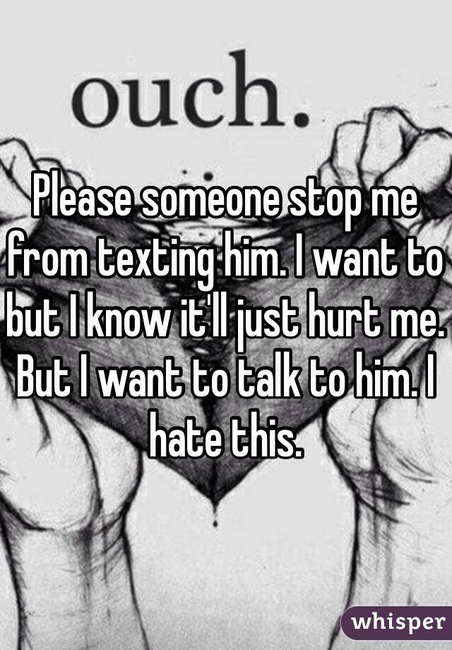 when to stop texting a guy