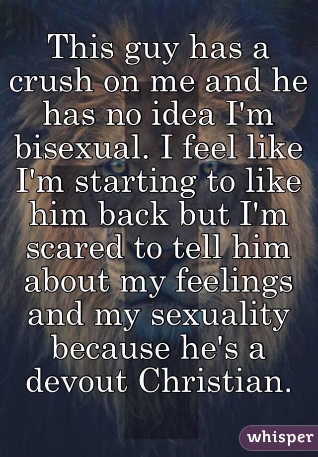 He has a crush