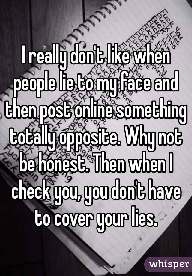 why do people like to lie