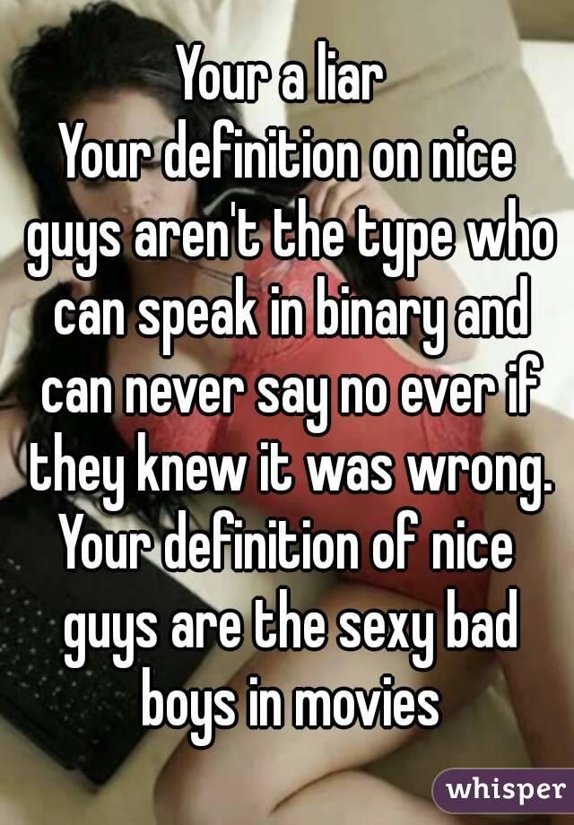 Liar definition