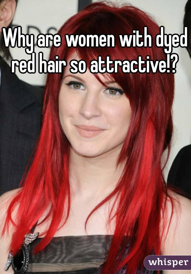 Why Are Women With Dyed Red Hair So Attractive