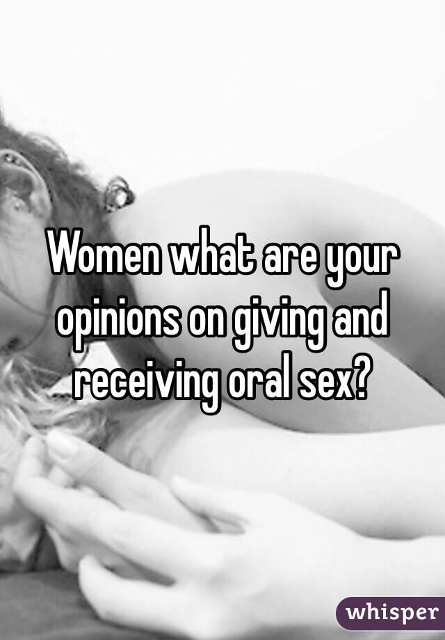 Oral sex confessions