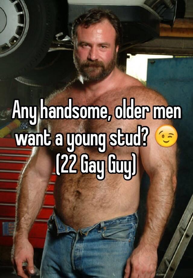 Old gay stud