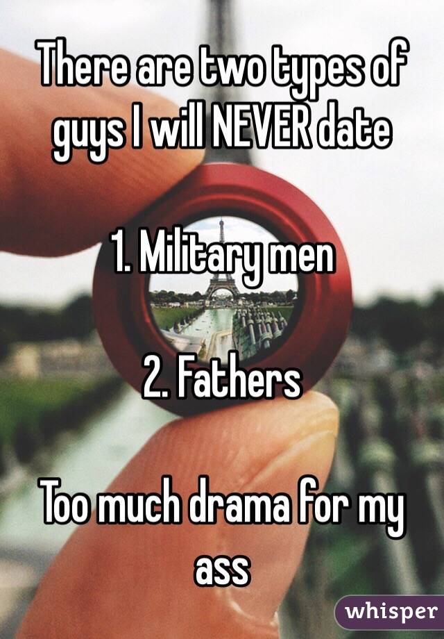 Types dating a military man — pic 3