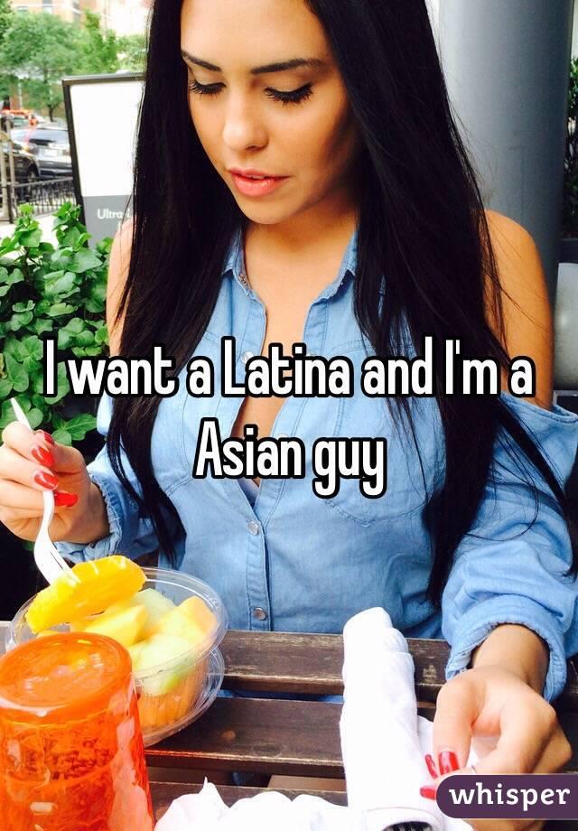 Asian guy latina