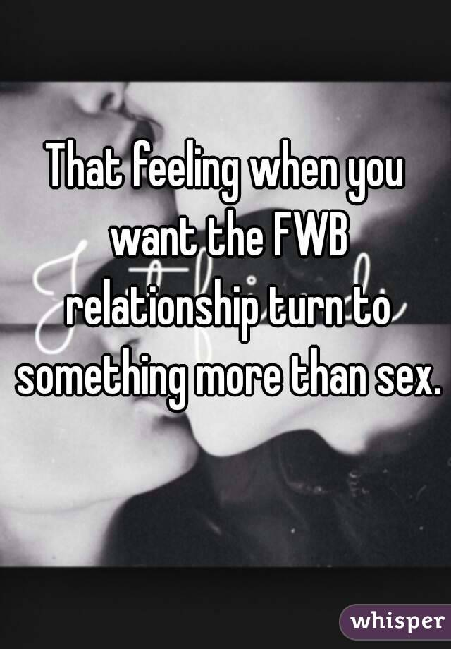 Exclusive fwb relationship