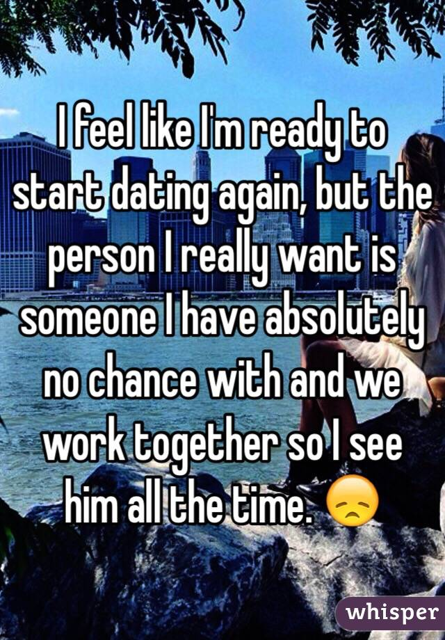 When is a person ready to start dating