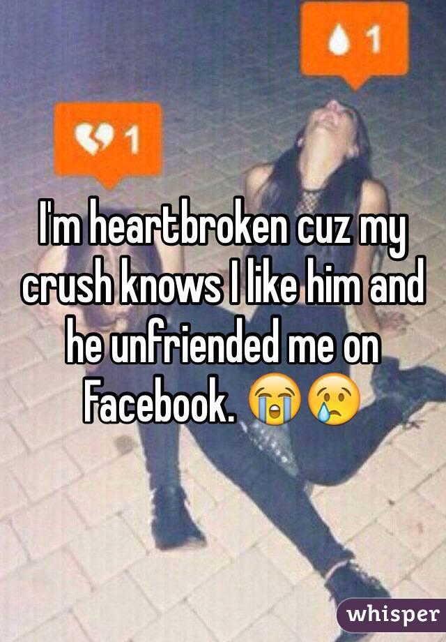 My girlfriend unfriended me on facebook