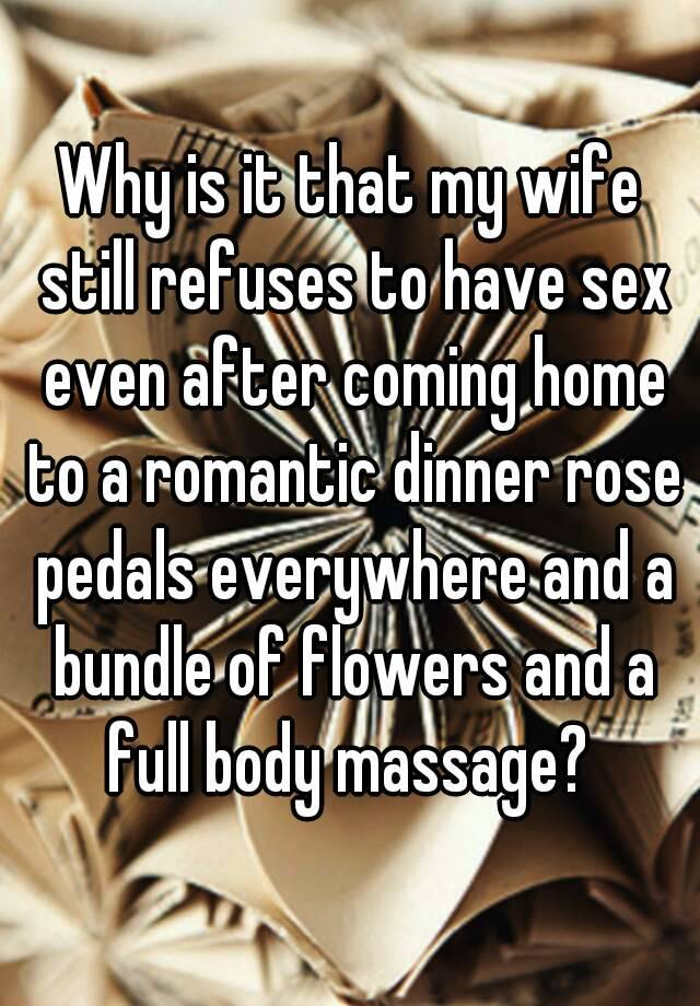 Romantic ideas for wife coming home