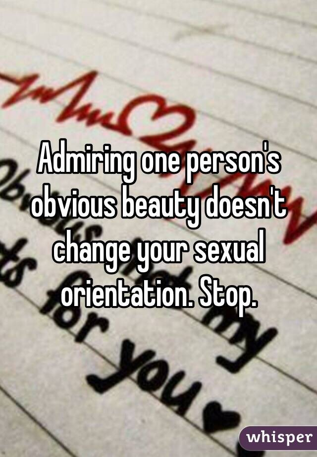 Can you change your sexual orientation