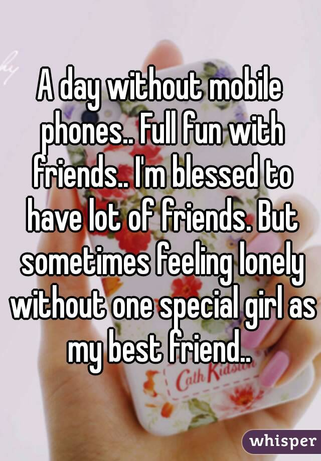a day without smartphone paragraph