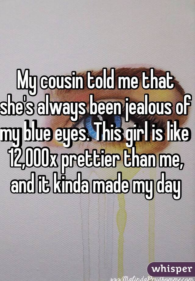 how to deal with a jealous cousin
