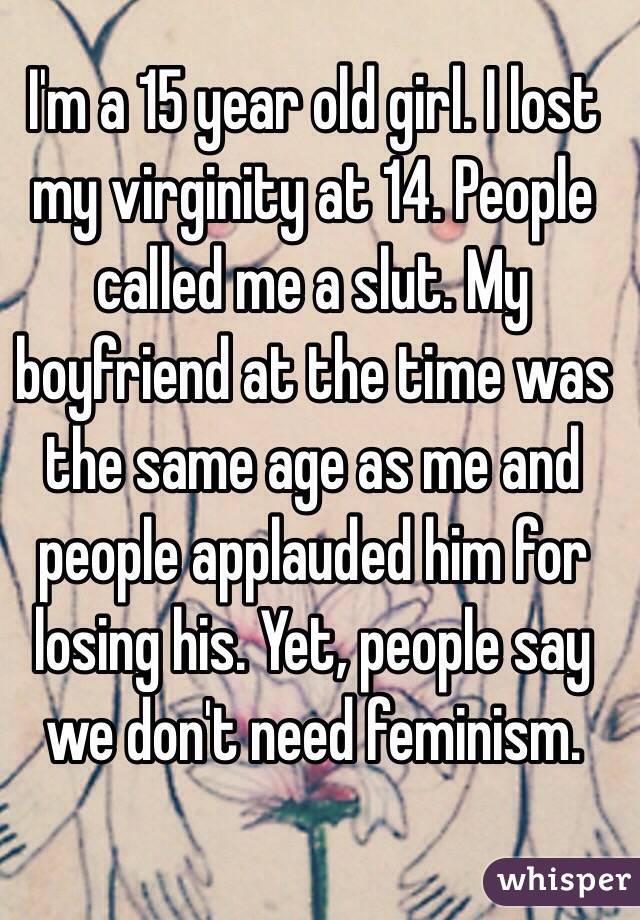 I Lost My Virginity Age 15