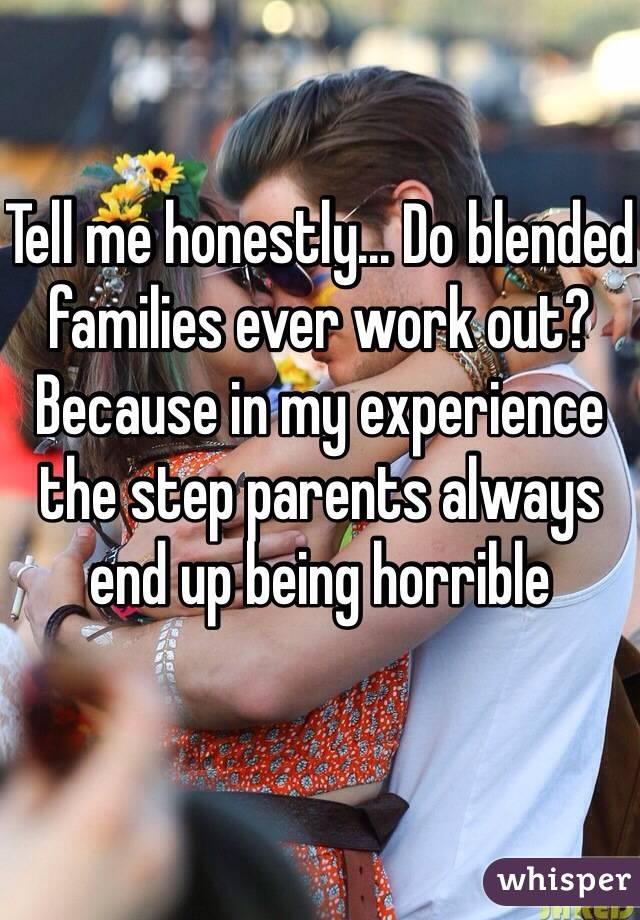 Do blended families work