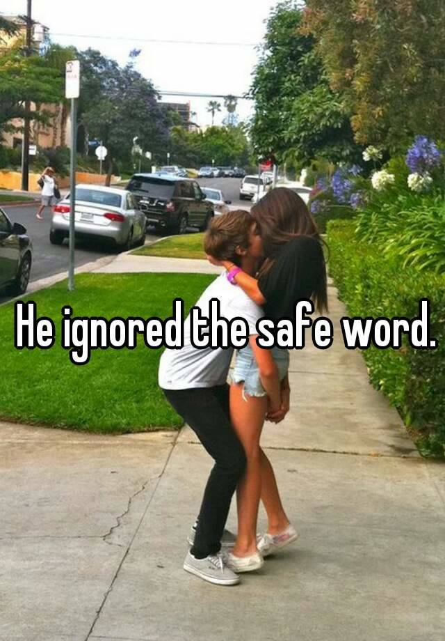 Safeword ignored