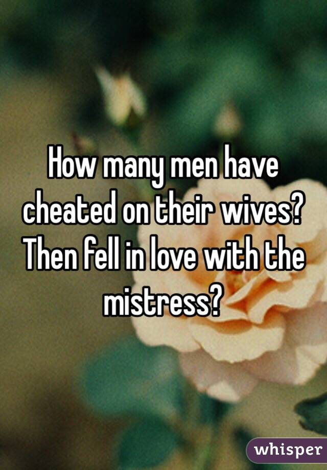 Have mistress men why a The Disadvantages