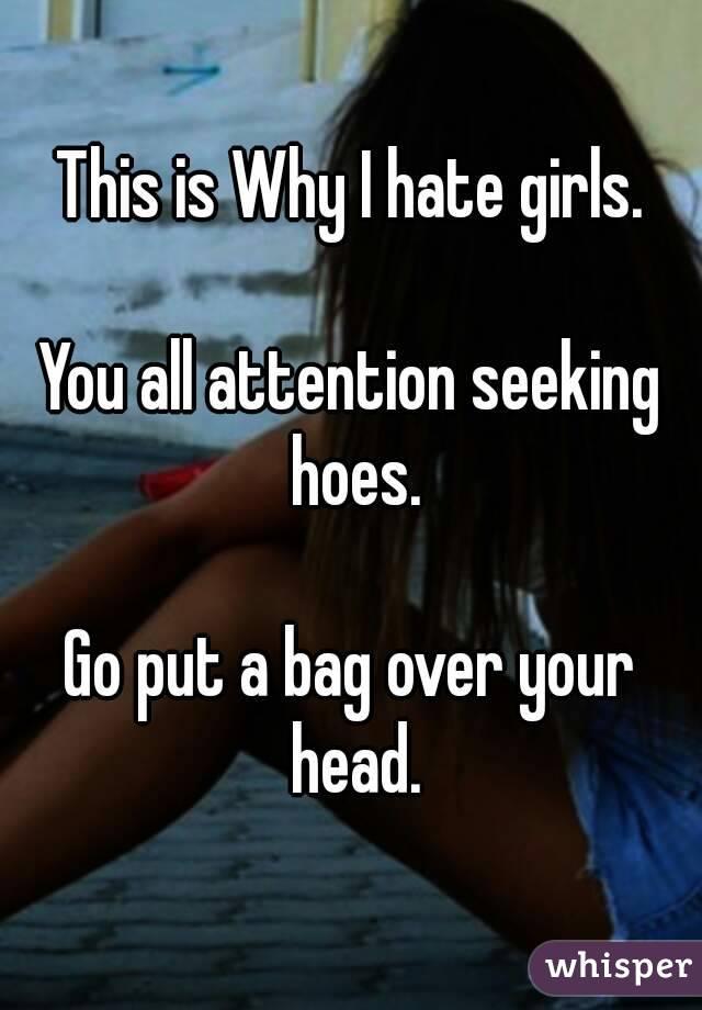 attention seeking wife