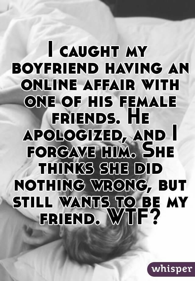 is my boyfriend having an affair
