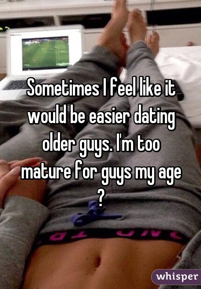 Mature and 3 guys