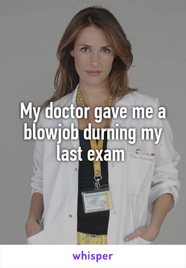 gave me a blow job