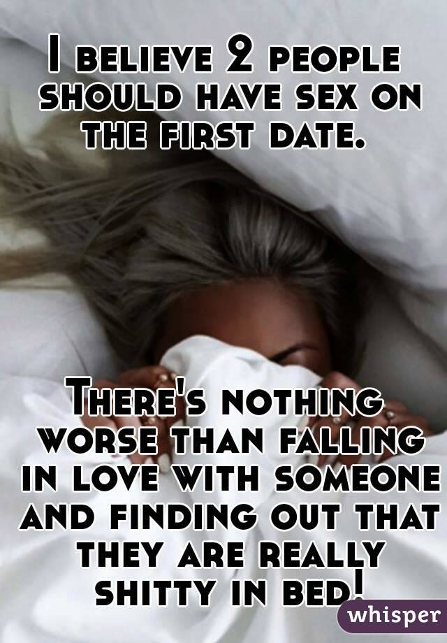 Should i have sex on the first date