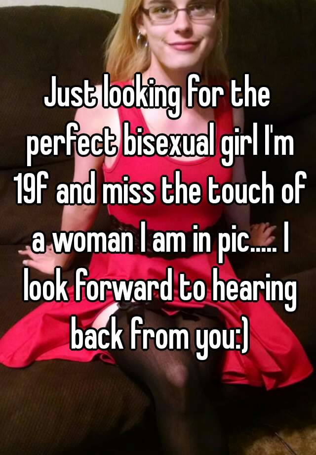 Looking for bisexual