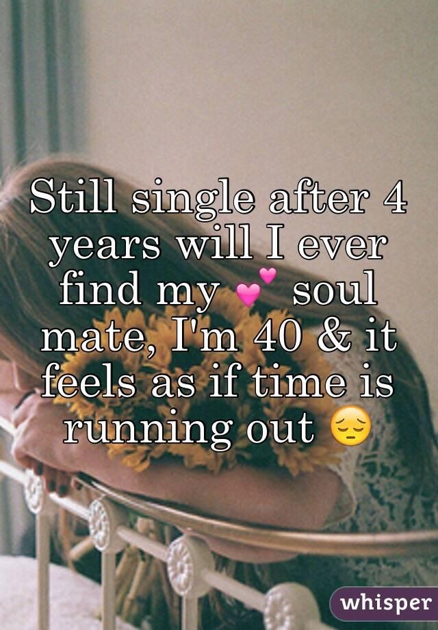 why am i still single at 40