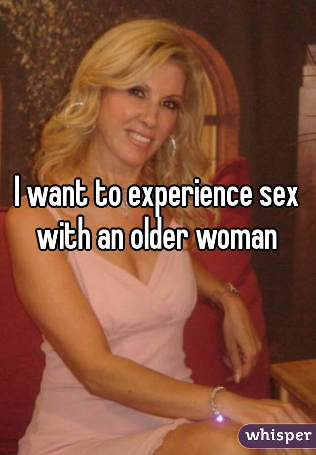being with an older woman
