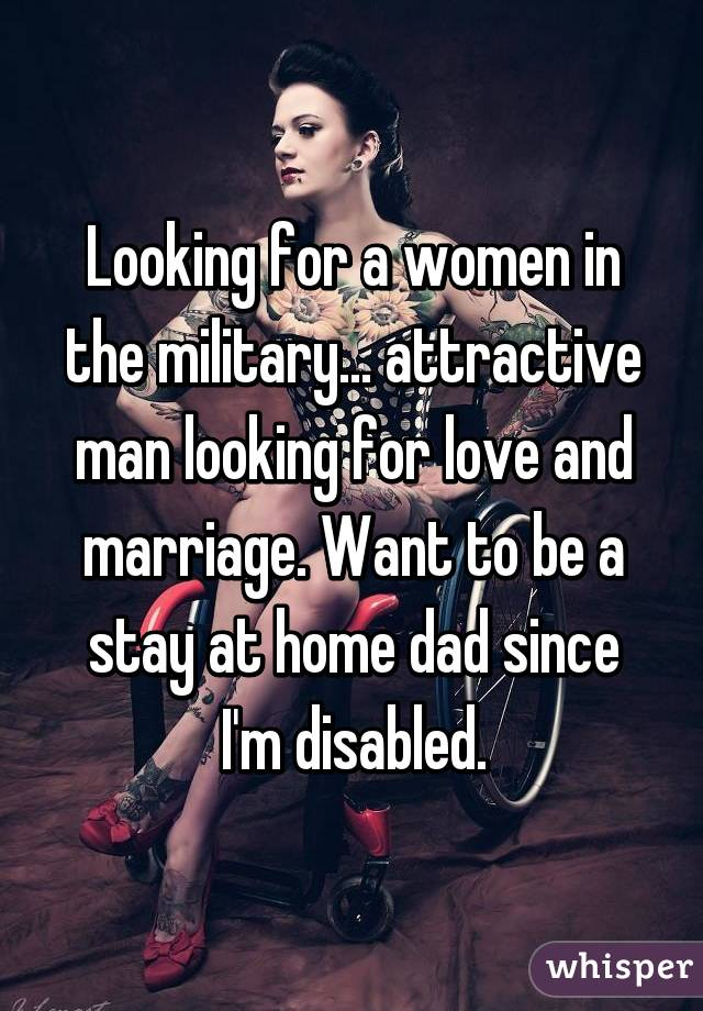 Disabled and looking for love