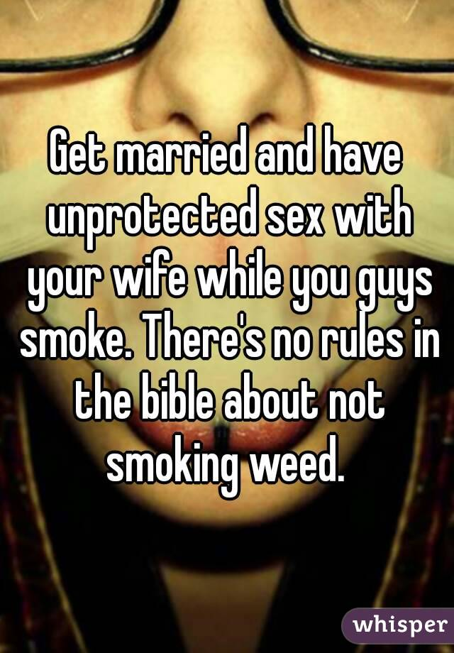 Sex rules in the bible