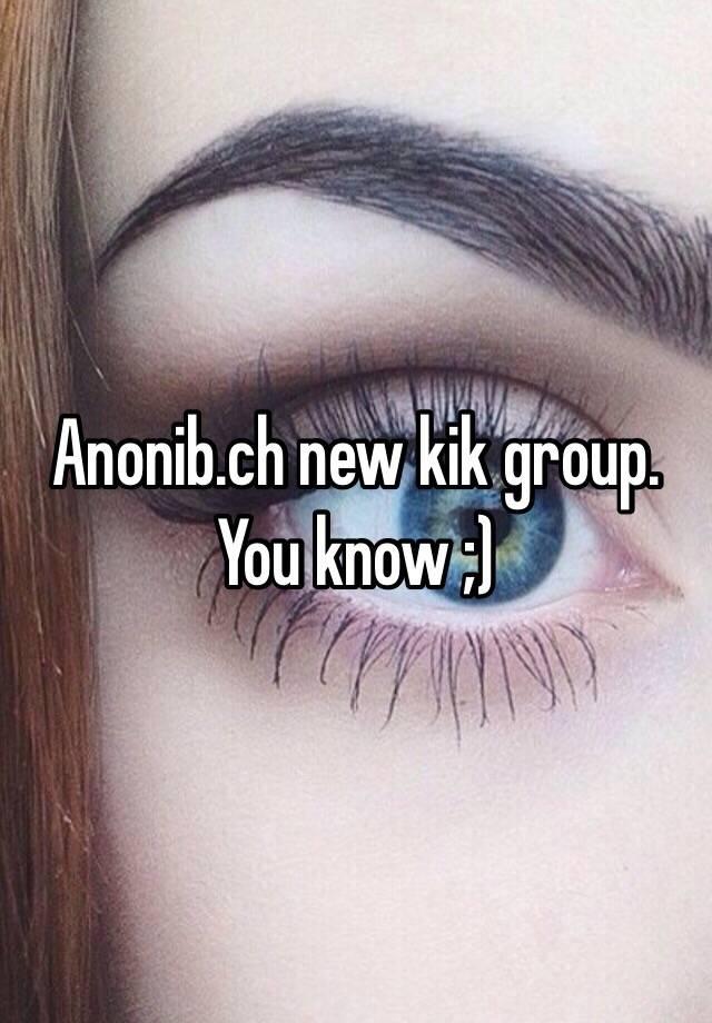 Anonib kik