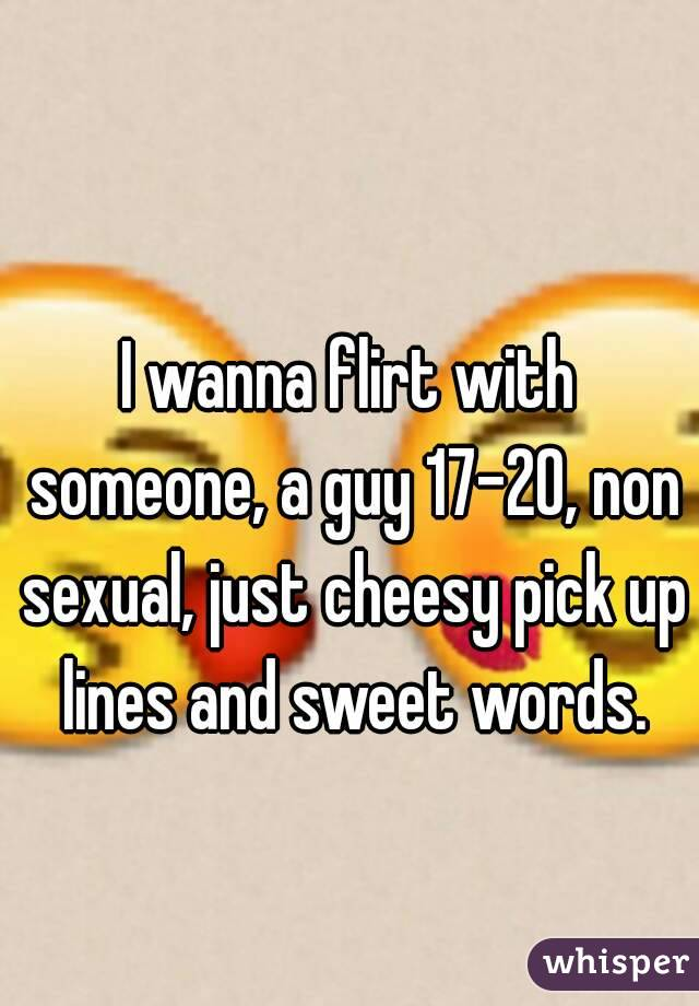 sexual cheesy pick up lines