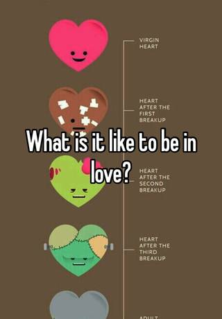 what is it to be in love