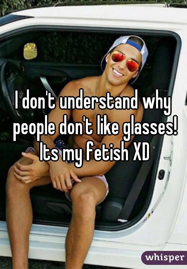 I dont like fetish