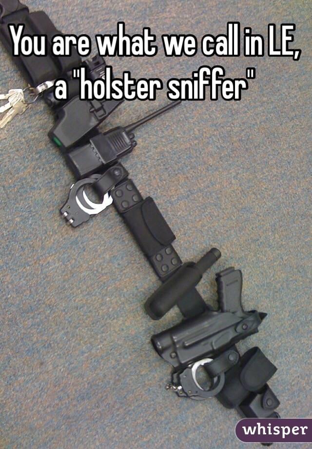 Holster sniffer