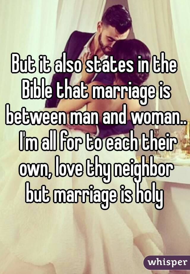 bible love between man and woman