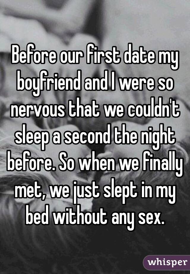 Sleeping with a guy on the second date
