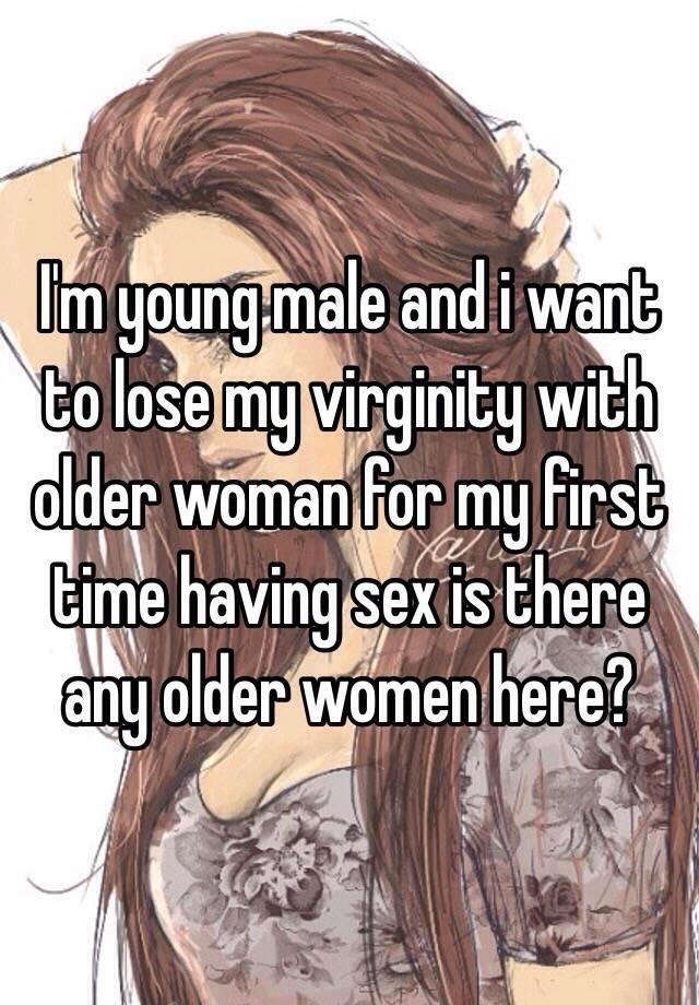 Losing virginity to older woman