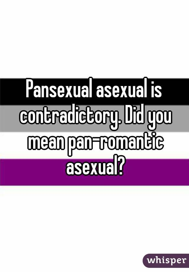 What does asexual and pansexual mean