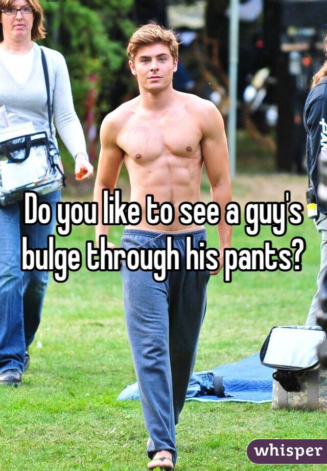 Guys playing with their bulge