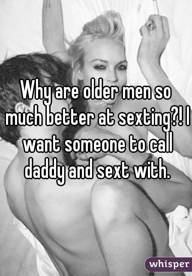 Sexting older women