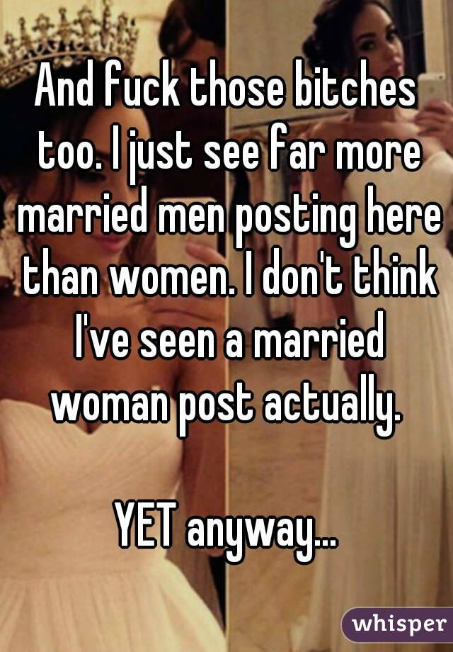Women fucking married men