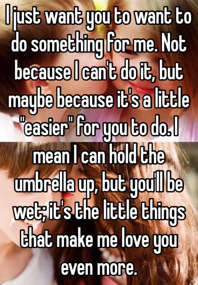 things make me wet