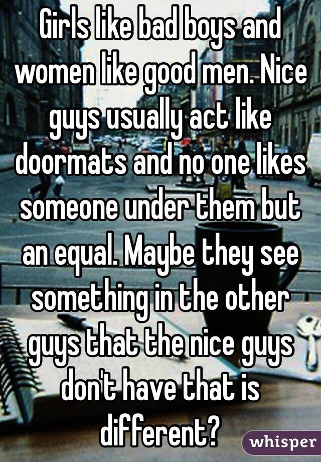 Why Do Women Love Bad Men