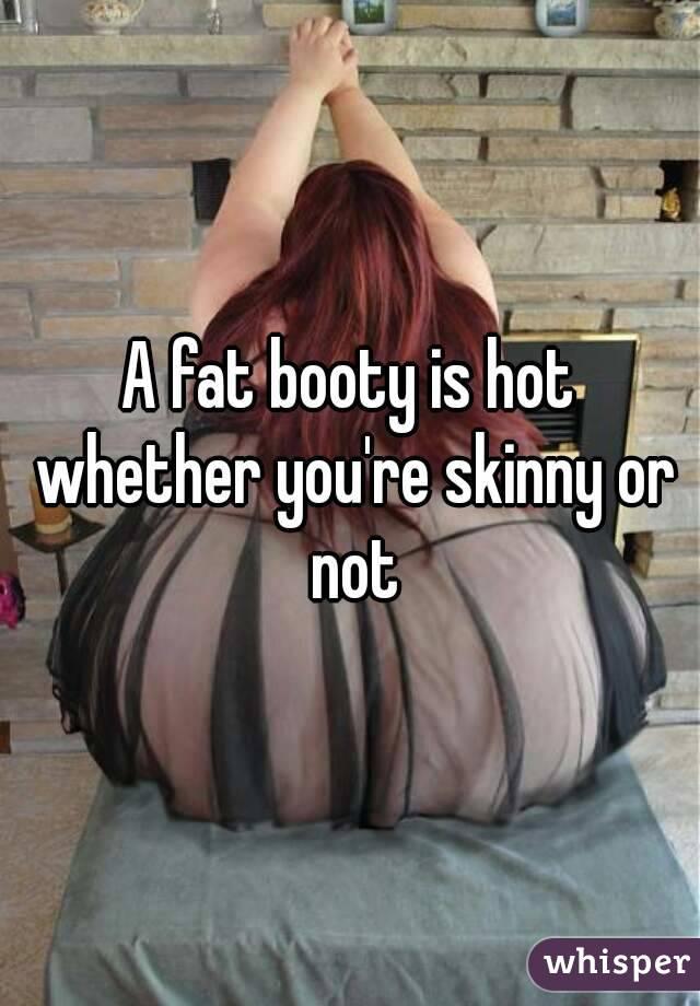Skinny girl fat booty
